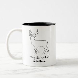 Spirit Animal Deer Mug | Agile, Intuitive