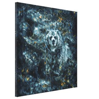 Spirit Bear Gallery Wrap Canvas