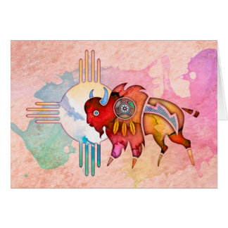 Spirit Buffalo Blank Notecard