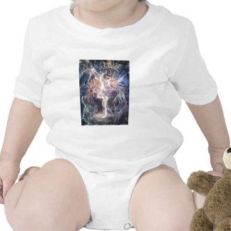 Spirit dancing picture baby bodysuits
