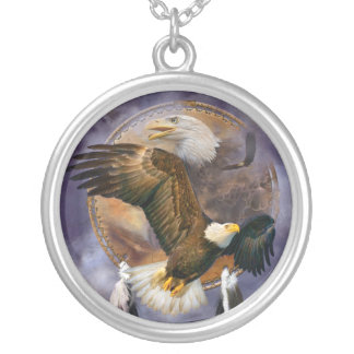 Spirit Eagle Wearable Art Necklace
