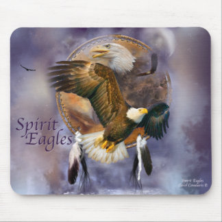 Spirit Eagles Mouse Pad
