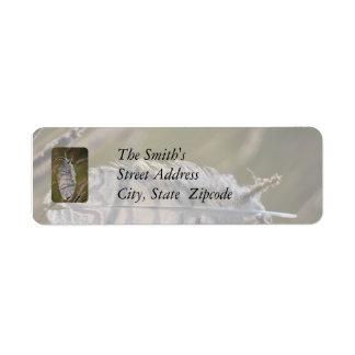 Spirit Feather Return Address Label
