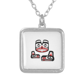 Spirit Guide Silver Plated Necklace