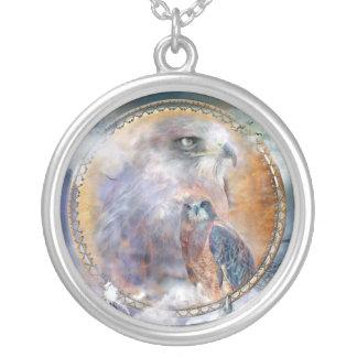 Spirit Hawk Wearable Art Necklace