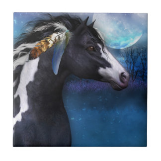 Spirit Horse equine tile