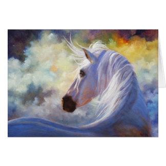 """""""Spirit"""" Horse Greeting Card"""