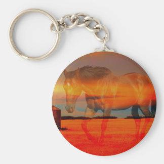 Spirit Horse Key Ring