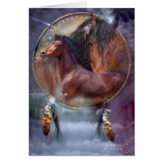 Spirit Horses Collectible ArtCard Card