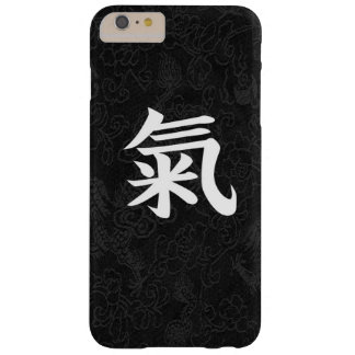 Spirit Japanese Kanji Calligraphy Black Dragon Barely There iPhone 6 Plus Case