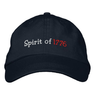 Spirit of 1776 embroidered hat