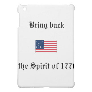 Spirit of 1776 hard drive case. iPad mini cover