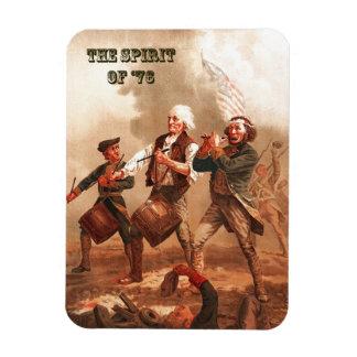 Spirit of  '76. Patriotic Fine Art Gift Magnet