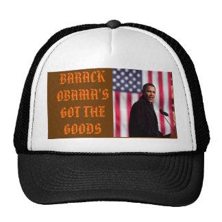 SPIRIT OF A REAL EAGLE, BARACK OBAMA'S GOT THE ... TRUCKER HAT