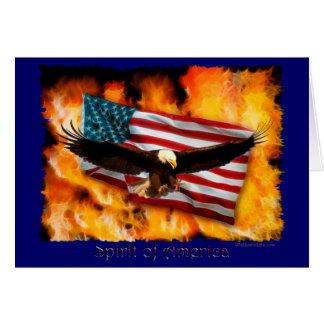 SPIRIT OF AMERICA Note card
