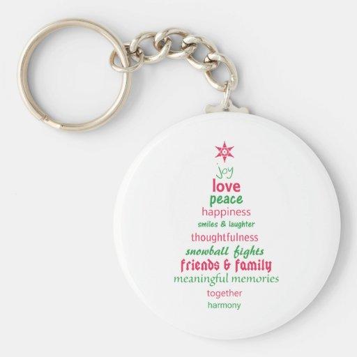 Spirit of Christmas Keychains