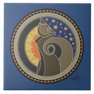 Spirit Of Coyote Ceramic Tile