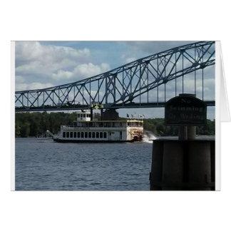 Spirit of Dubuque on Mississippi River Card