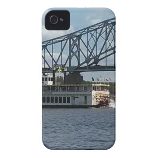 Spirit of Dubuque on Mississippi River iPhone 4 Case-Mate Case