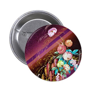 Spirit of Gaia Yellow flowers Buttons