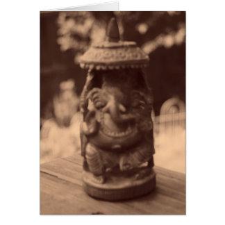 """Spirit of Ganesha"" Card"
