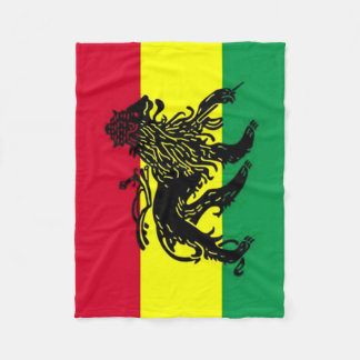 Spirit of Jamaica Flag Fleece Blanket