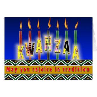 Spirit of Kwanzaa Card