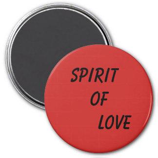 Spirit of love Quote Magnet