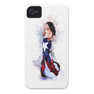 Spirit of Puerto Rico iPhone 4 Case-Mate Cases