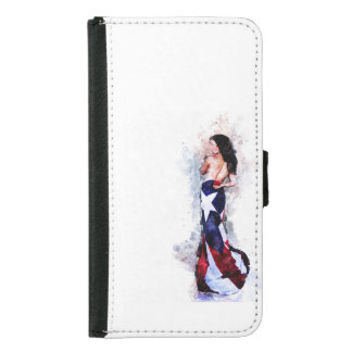 Spirit of Puerto Rico Samsung Galaxy S5 Wallet Case