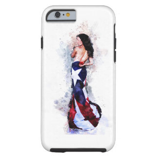 Spirit of Puerto Rico Tough iPhone 6 Case