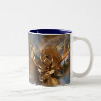 Spirit Of The Elk Art Mug