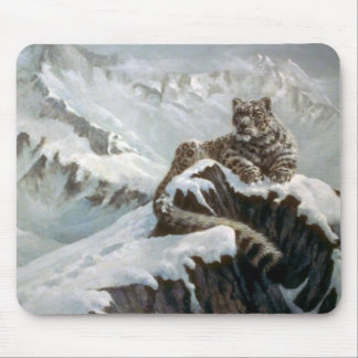 Spirit of the mountains, Snow Leopard Mouse Pad