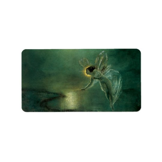 Spirit of the Night by Grimshaw, Victorian Fairy Address Label