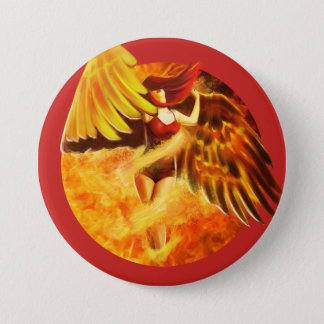 Spirit of the Phoenix Button