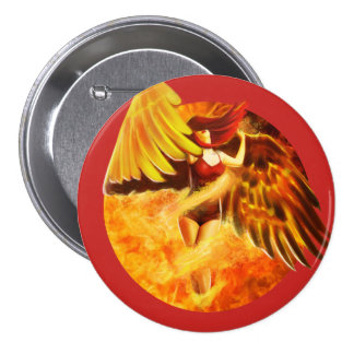 Spirit of the Phoenix Button