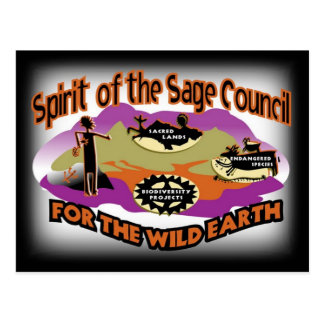Spirit of the Sage Council fundraiser Postcard