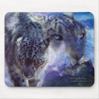 Spirit Of The Snow Art Mouse Pad
