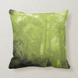 Spirit of the trees green photographic pillow