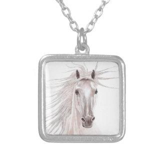 Spirit of the Wind Horse -vintage- Custom Necklace