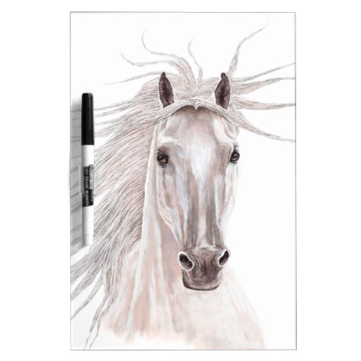 Spirit of the Wind Horse -vintage- Dry Erase Board
