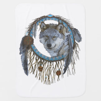 Spirit of the Wolf Baby Blanket