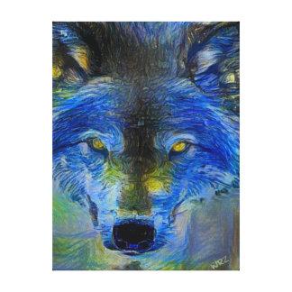 Spirit of the Wolf Oil Print
