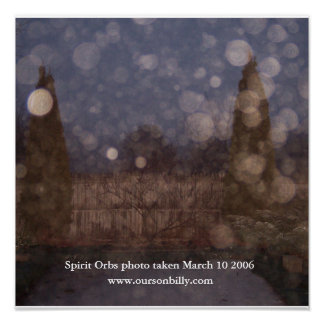 Spirit orb canves poster