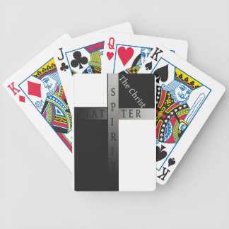 Spirit over matter back-face playing cards