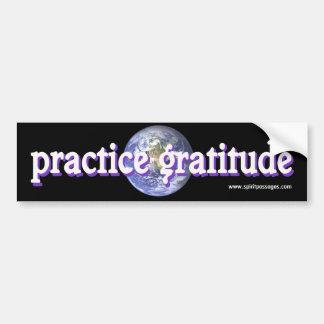 Spirit Passages Practice Gratitude Sticker
