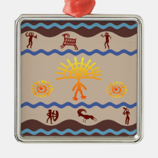 Spirit Path Rock Art Ornament