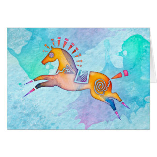 Spirit Pony Blank Notecard