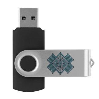 Spirit Quest USB Swivel Flash Drive Swivel USB 2.0 Flash Drive