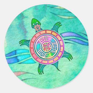 Spirit Turtle Animal Totem Stickers